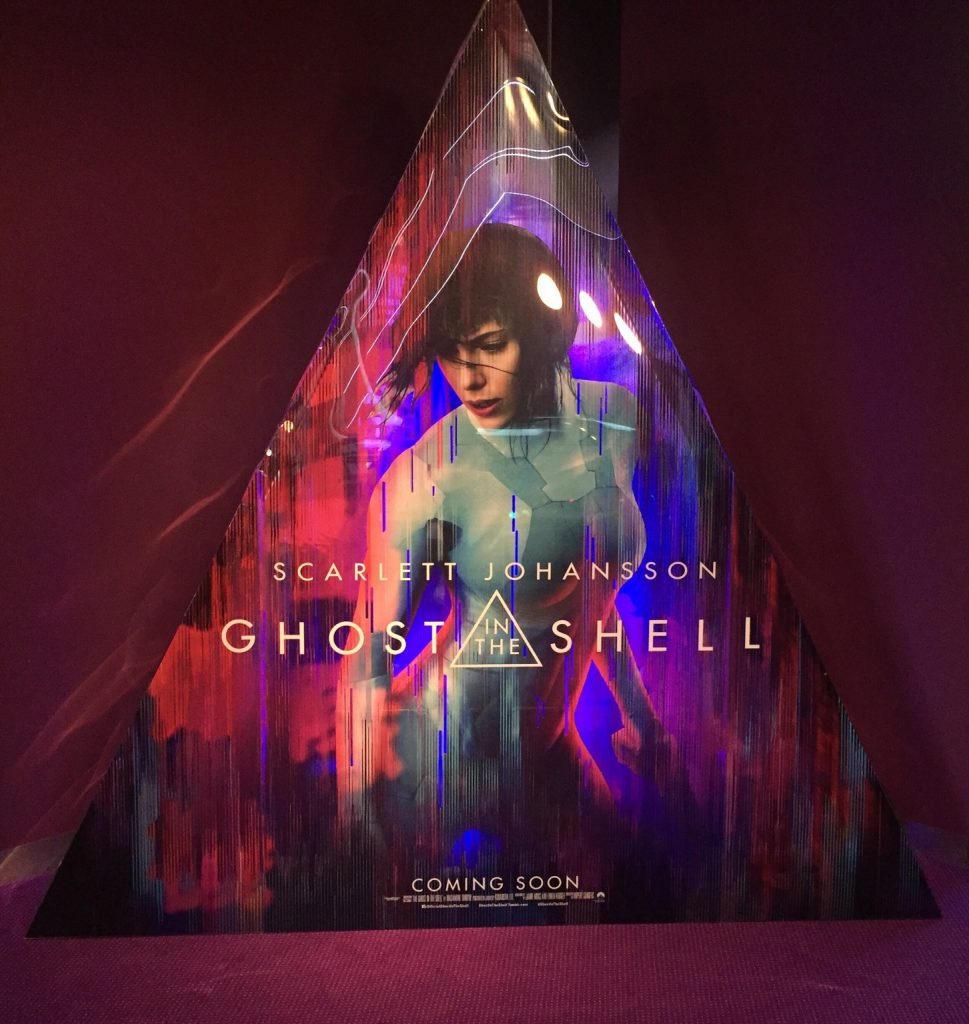 Stand reklamowy filmu Ghost in the Shell - Zdjęcie 1