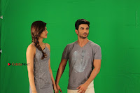 Kriti Sanon & Sushant Singh Rajput Pos During Promotional Interview For Raabta .COM 0029.jpg