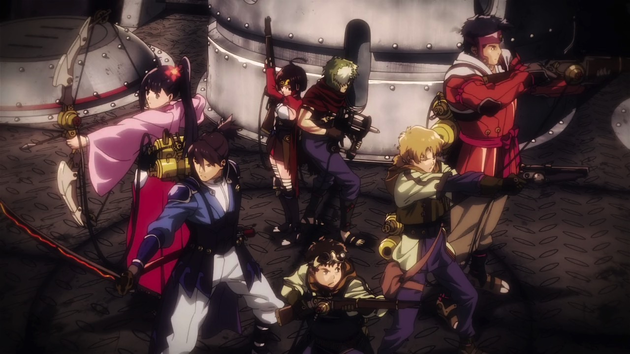 My Shiny Toy Robots Anime Review Kabaneri Of The Iron Fortress