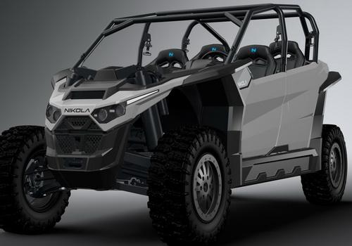 Tinuku Nikola Zero electric UTV with 555 horsepower and 4,900 torque