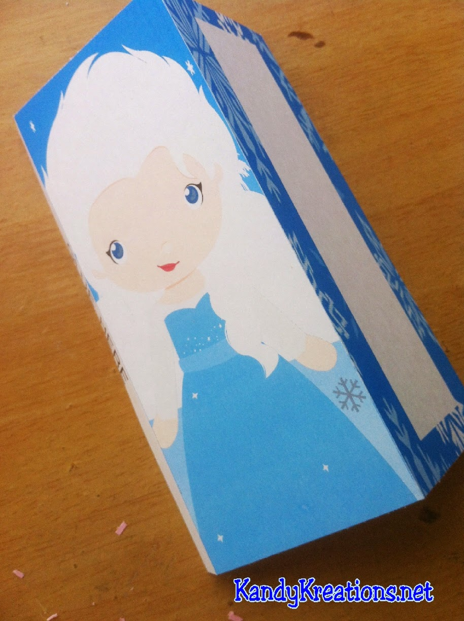 Queen Elsa Frozen Candy Bar Wrappers Free Printable