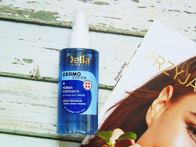 Delia Dermo System, Mgiełka tonizująca do twarzy