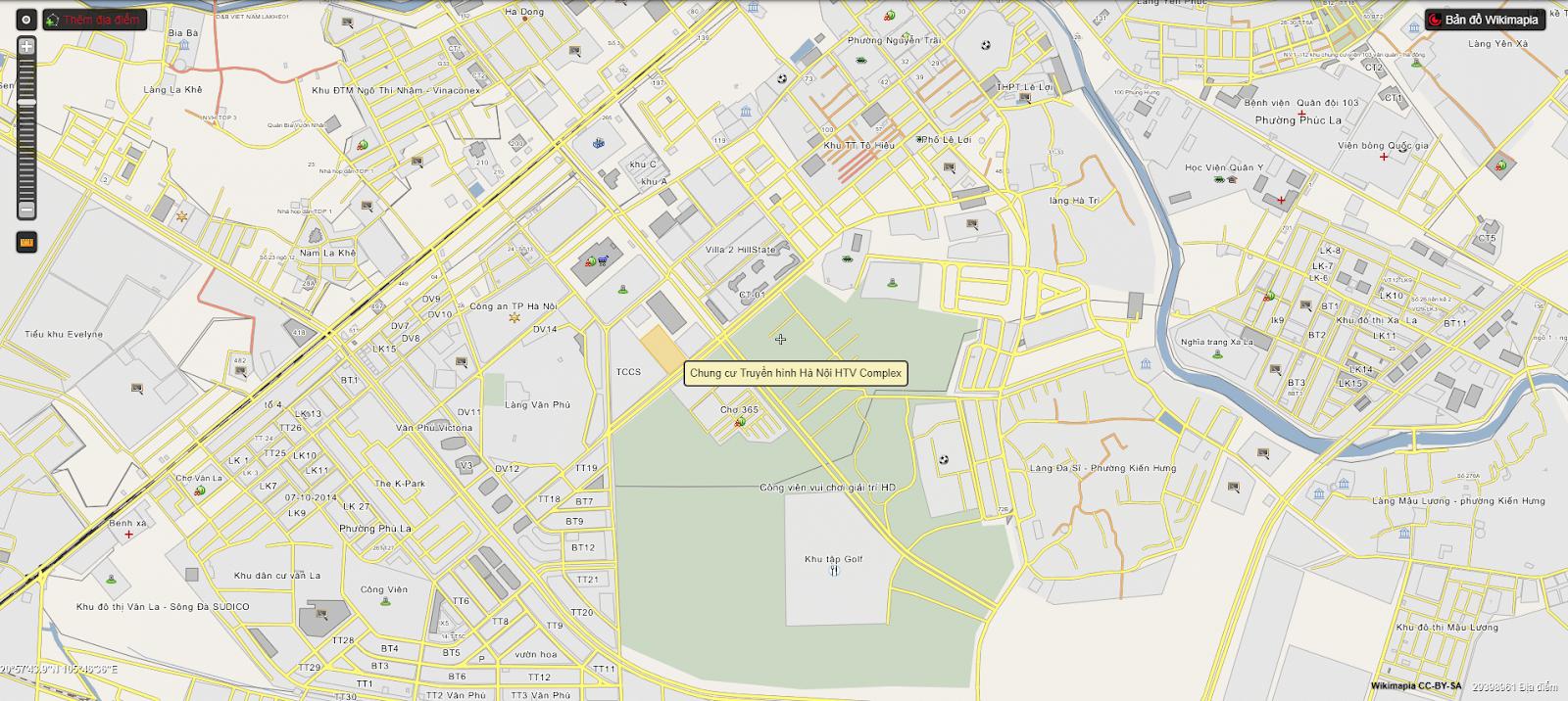 Vị trí đắc địa chung cư Phú Thịnh Green Park
