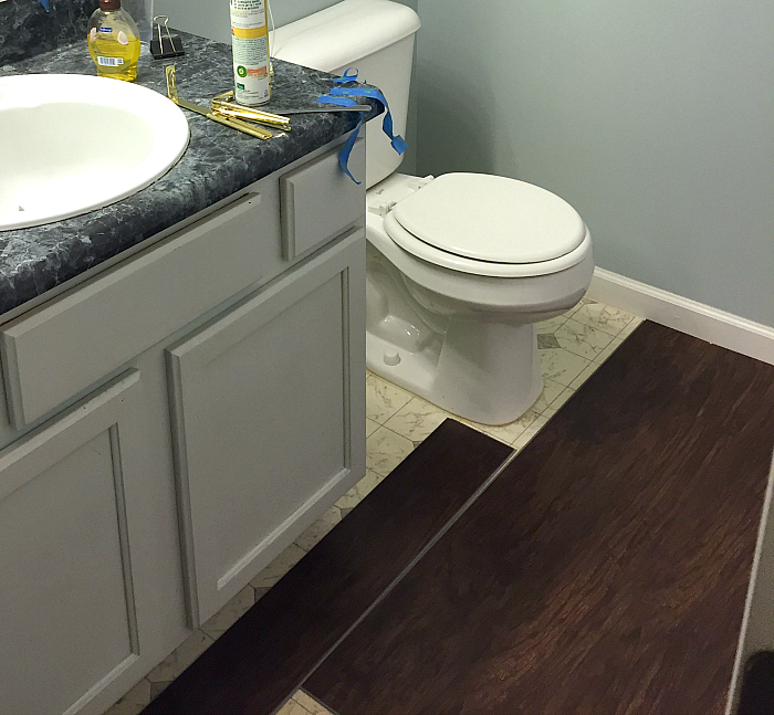 Small Guest Bathroom Update with the SpaLet™ Bidet Seat from American