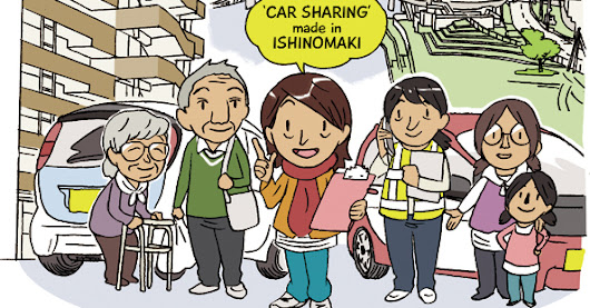 Ishinomaki's 'Community Car Sharing' programme