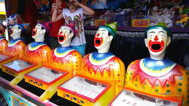 #sideshow #clowns #circus #redhairedamazona