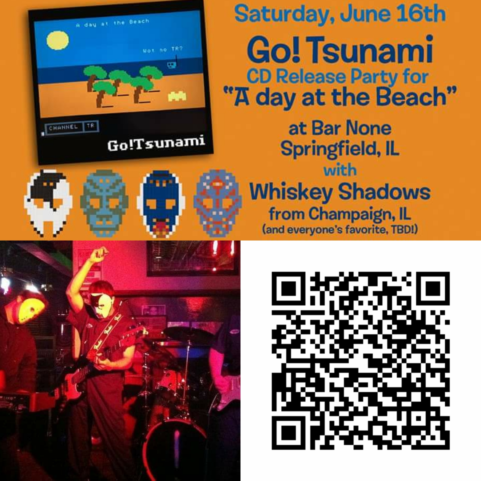 A Day At The Beach #Gotsunami Cd Release W @Whiskeyshadows