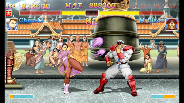 Street Fighter fighting game review