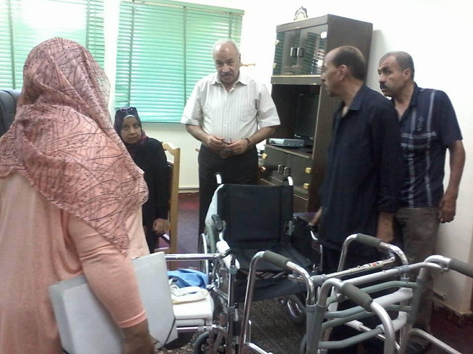بالصور صحة الفيوم تتلقى تبرعات أجهزة طبية من مؤسسة بدران الخيرية