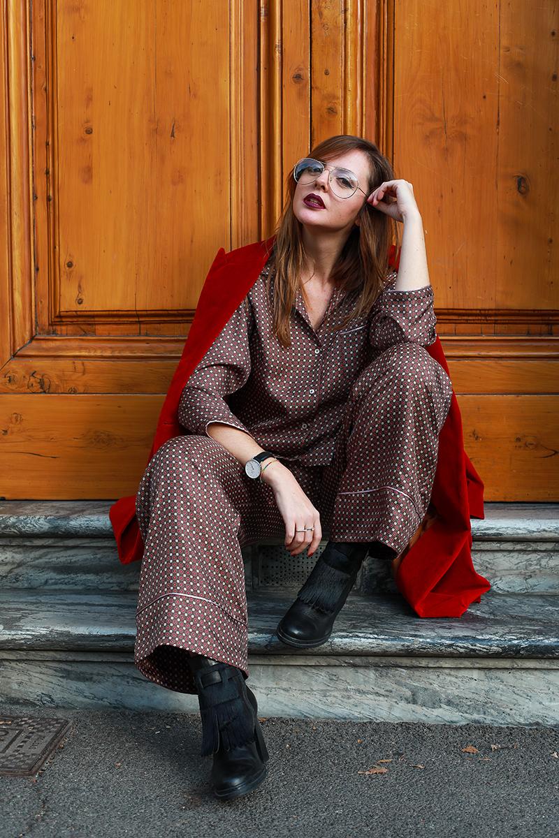 look pigiama seta primavera 2018