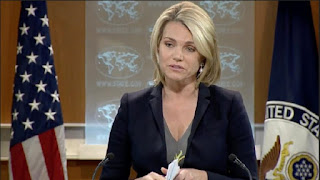 US Department of State spokeswoman Heather Nauert