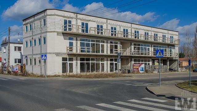 Budowa pawilonu handlowego przy ulicy Towarowej w Bydgoszczy