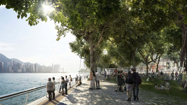 Cảnh quan khuôn viên tại Khai Sơn City