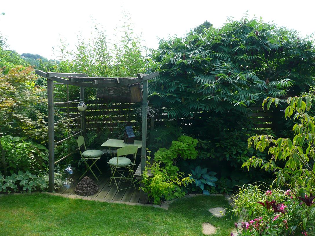 amenagement coin jardin | aménager son entrée de jardin zen