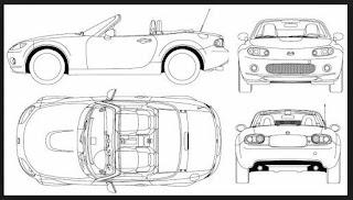 Mazda MX-5 Miata 2015 and Alfa Romeo Spyder ~ PLAYLG