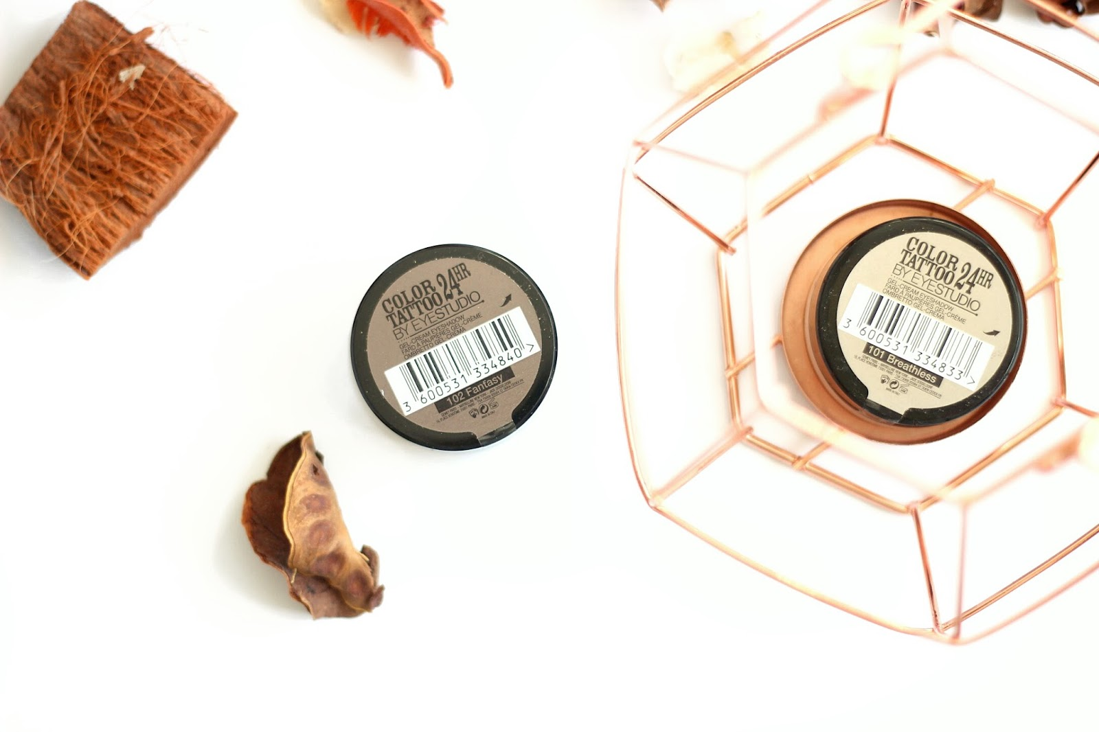 Maybelline Color Tattoo Breathless & Fantasy