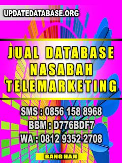 Database Nasabah Prioritas Telemarketing