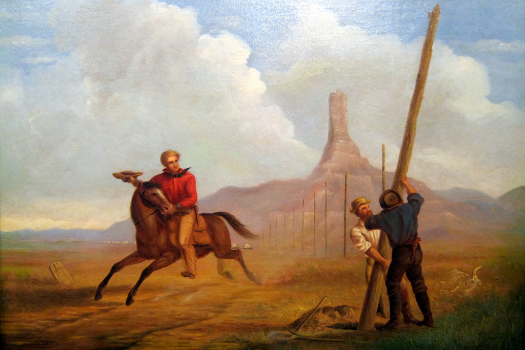the story of the pony express bradley glenn danford