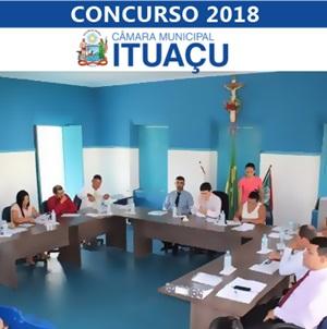 Concurso Câmara de Ituaçu 2018