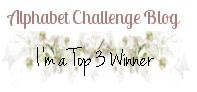 Top 3 at Alphabet Challenge Blog