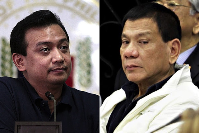 Trillanes and Duterte