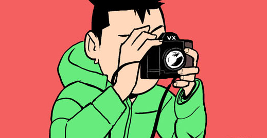 Ba cha con (bộ mới) phần 40: Máy ảnh VX-1
