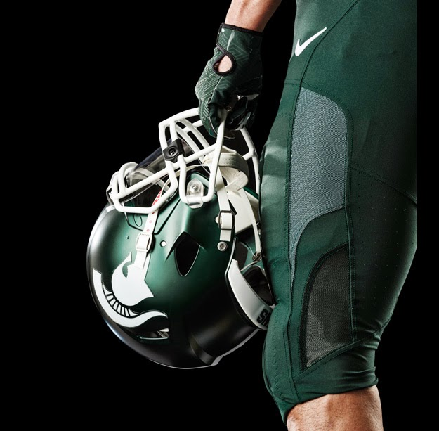 b6ed8284cfb Total Football Uniform Report  Michigan State unveils new uniforms