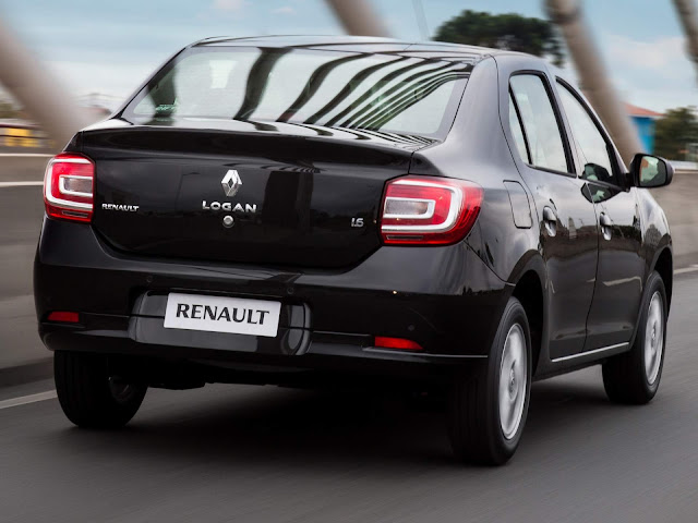 Novo Renault Logan 2017