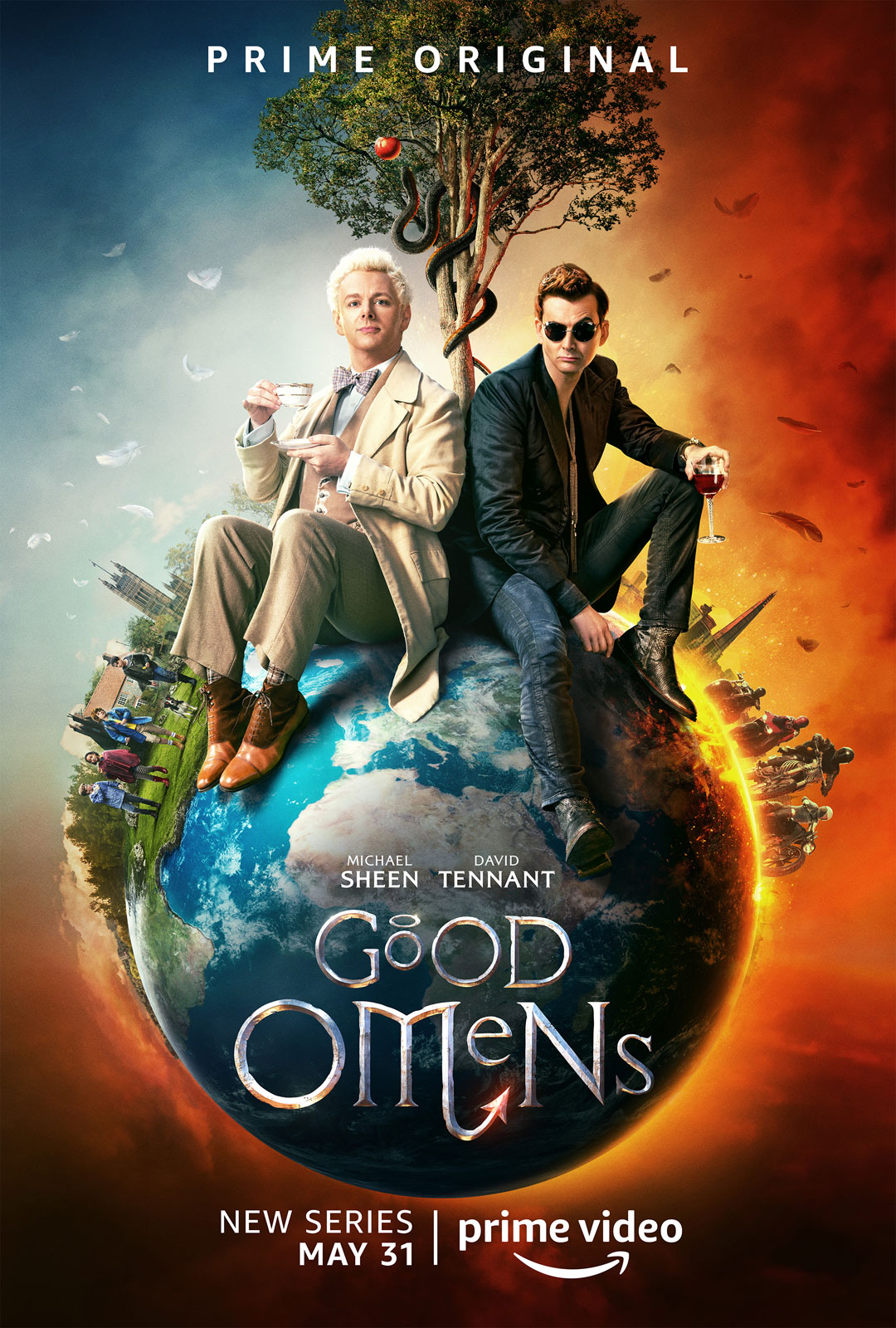 Good Omens – Saison 1 [Complete] [Streaming] [Telecharger]