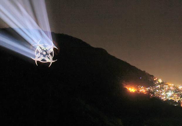 satanic symbol sugerloaf mountain brazil