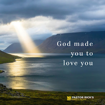 No One Else Could Have Made You, You by Rick Warren