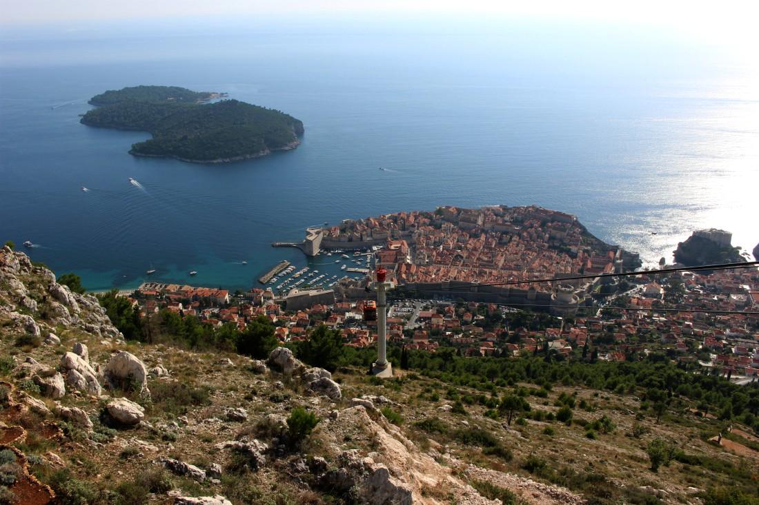 Dubrovnik, Kroatia, Srd-vuori, syysloma, Rouva Sana
