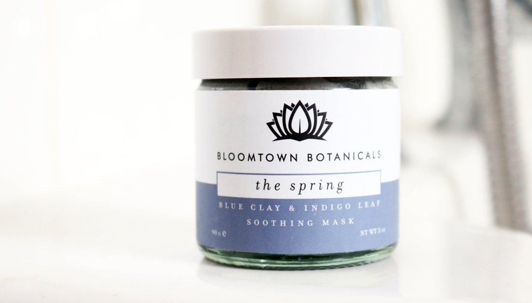 Bloomtown Botanicals The Spring Blue Clay & Indigo Leaf Soothing Mask review