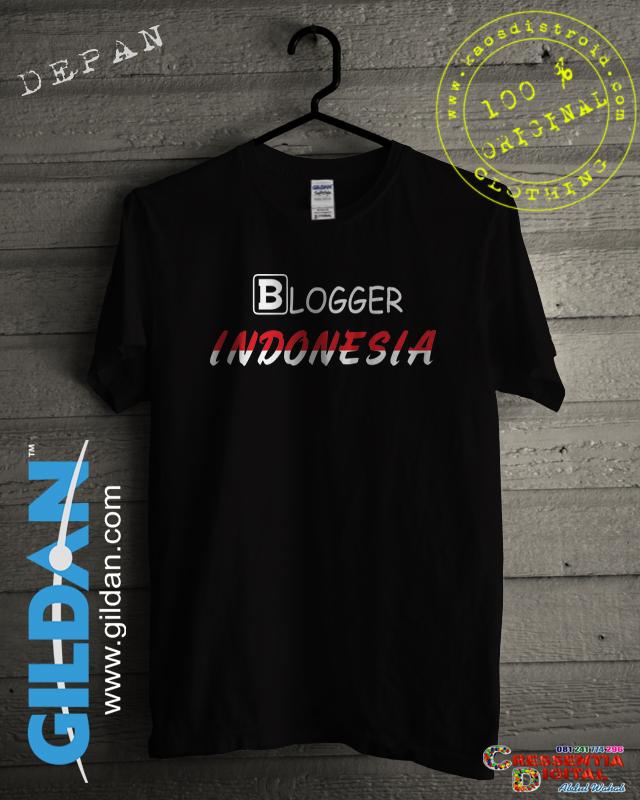 Baju Kaos Blogger Indonesia