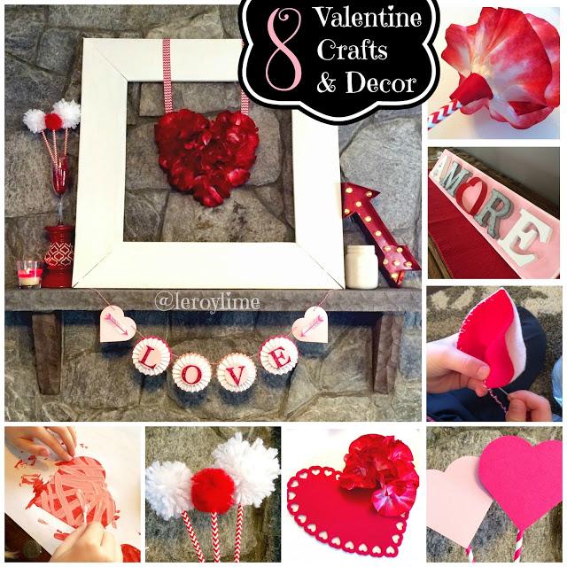 8 Valentine Crafts - Valentine - LeroyLime