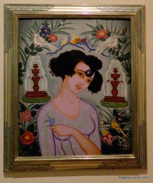 Tela do pintor mexicano Adolfo Best Maugard: La Polveada (1922)