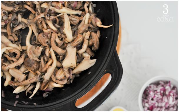risoto cogumelos variados