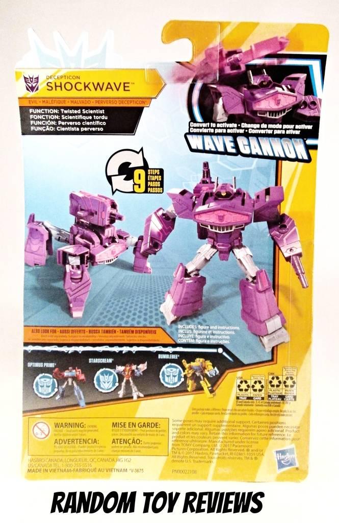 Random Toy Reviews Transformers Cyberverse Shockwave
