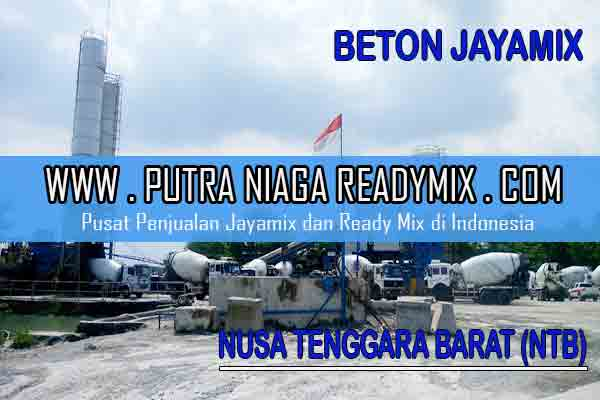 Harga Beton Jayamix Nusa Tenggara Barat (NTB)
