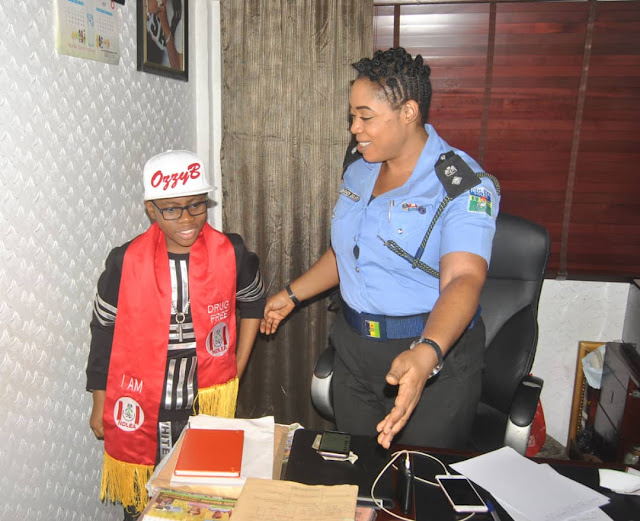 Photos: Nigeria Police Force honours Ozzybee