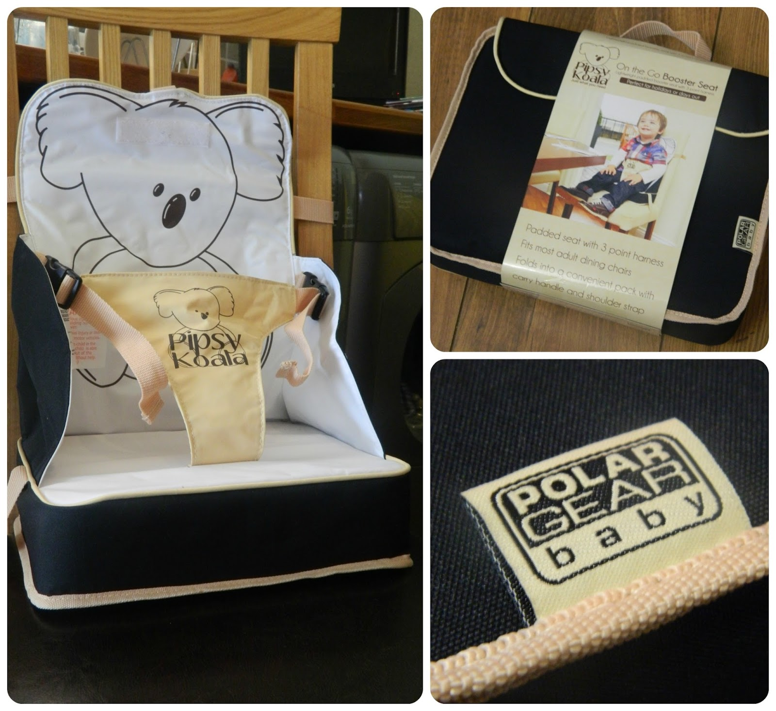 Pipsy Koala On the Go Booster Seat Review