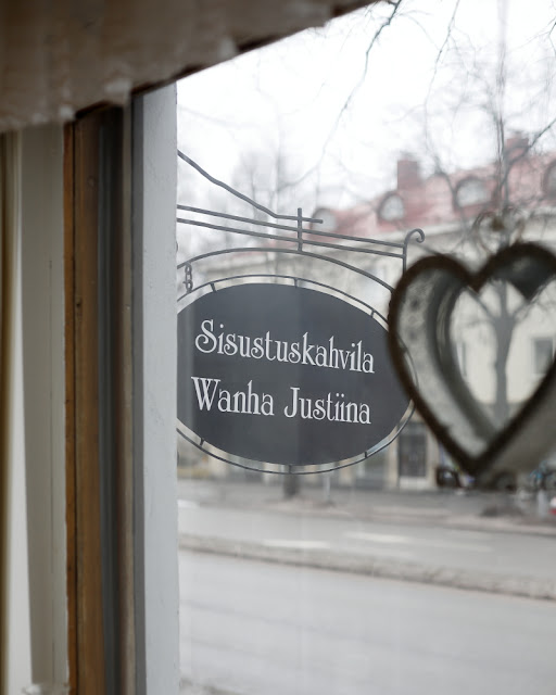 sisustuskahvila Wanha Justiina