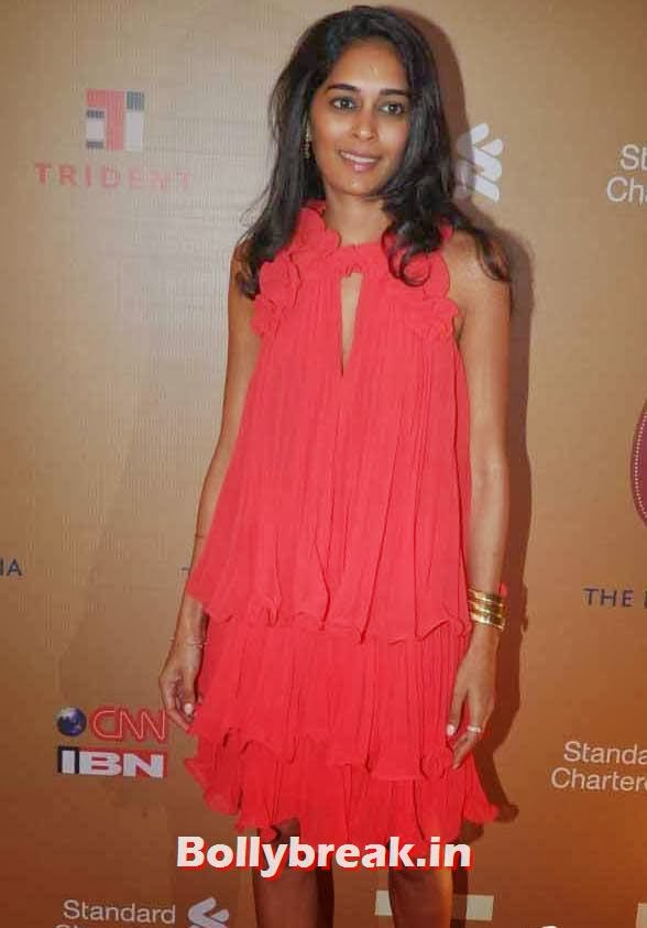 Mallika Advani, The Idea of India Auction Pics