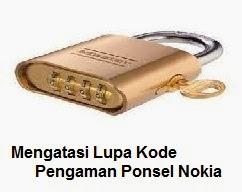 Kode Pengaman Ponsel