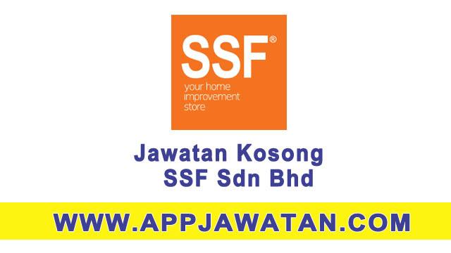 Jawatan kosong di SSF Sdn Bhd -  Mac 2017
