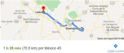 ¿Como llegar a Palenque Feria de Leon en Guanajauto?