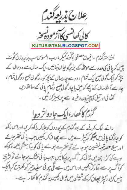 Sample page of Mofeed Gharelo Dawaein Or Ghar Ka Dawa Khana