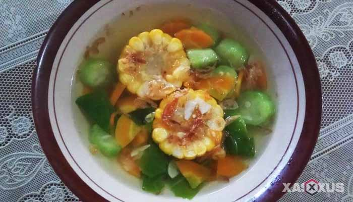 Resep cara membuat sayur asem oyong