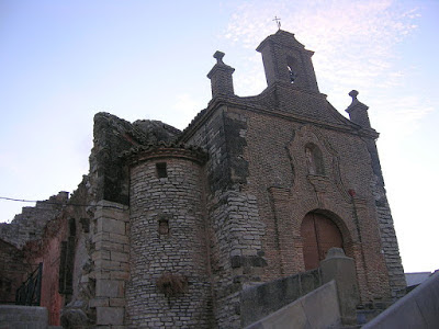 Almudévar, ermita, virgen de la Corona, Virchen d'a Corona