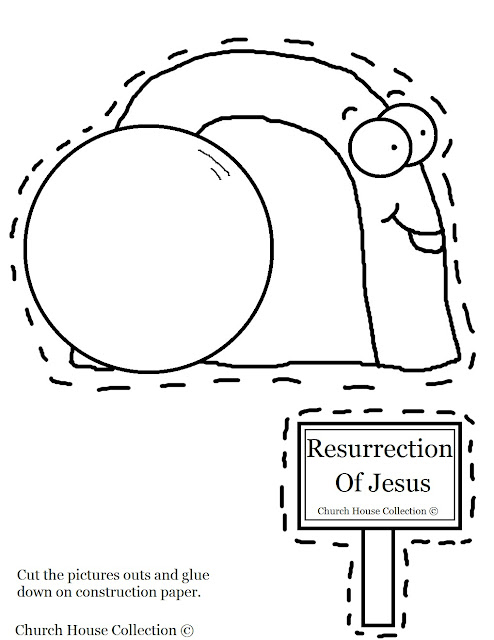 Church House Collection Blog: Easter Tomb Crafts- Tomb Cut